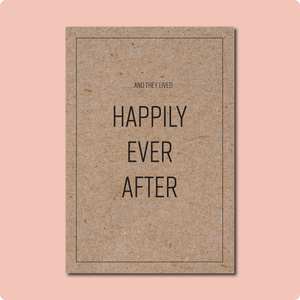 And They Lived Happily Ever After Card
