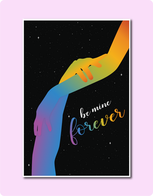 Be Mine Forever Card