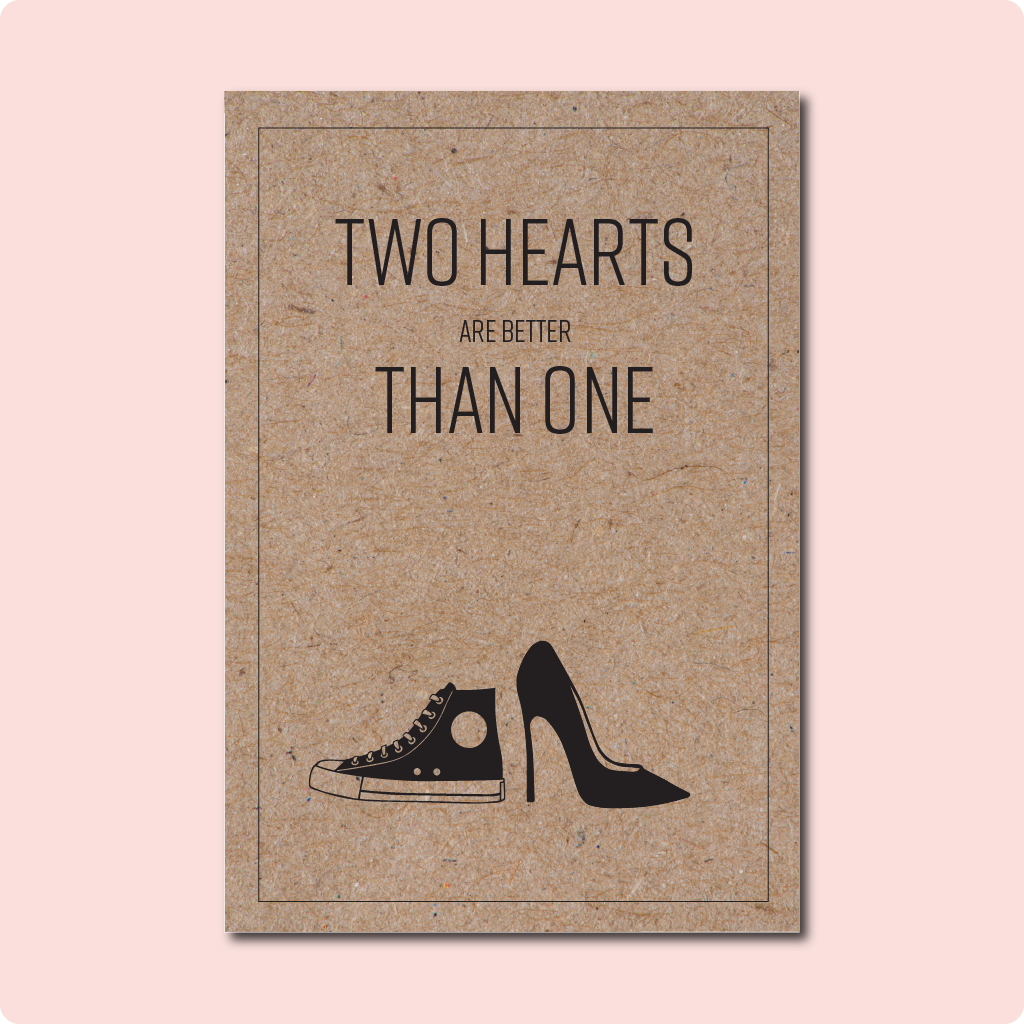 Two Hearts Are Better Than One Card