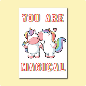 You Are Magical Card Collaboration with Courtney Peppernell and Two Brides Presents