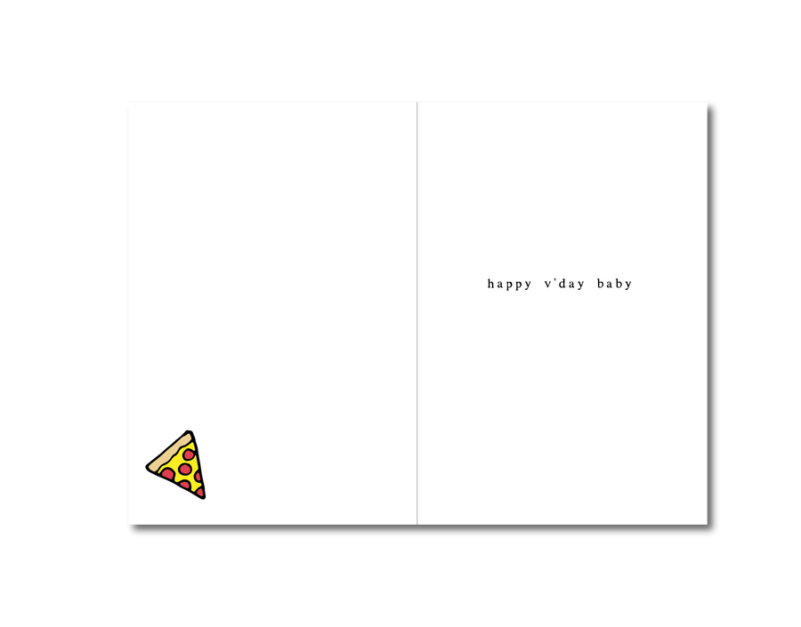 Giving You A Pizza My Heart Card