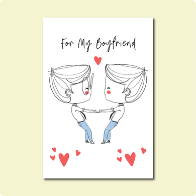 For My Boyfriend Card