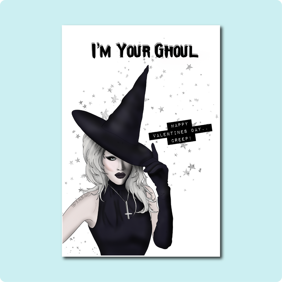 I'm Your Ghoul Sharon Needles Card