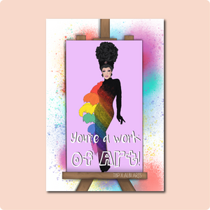Art Simone Drag Queen Card