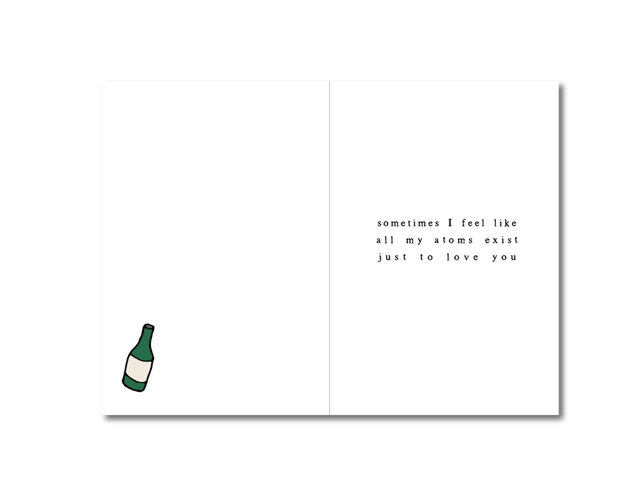 You're Wine In A Million Card ~ Courtney Peppernell X TBP Collab