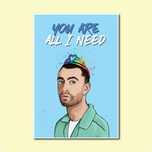 Sam Smith You Are All I Need Card ~ Ora Designs X TBP Collab