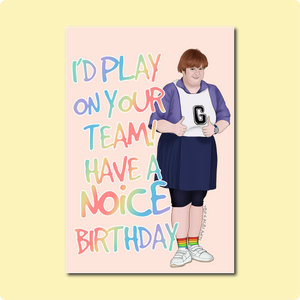 Have A Noice Birthday Card ~ Albi Arts X TBP Collab