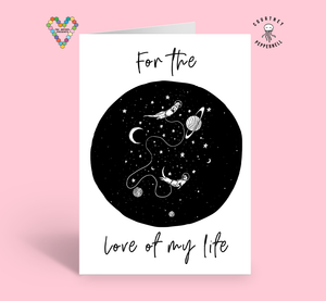 For The Love My Life Card ~ Courtney Peppernell X TBP Collab