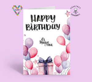 Happy Birthday Magic Card ~ Courtney Peppernell X TBP