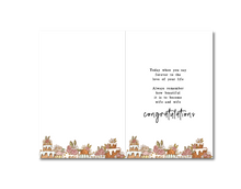 Load image into Gallery viewer, Mrs & Mrs Poetry Card ~ Courtney Peppernell X TBP