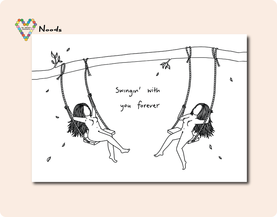 Swingin' With You Forever ~ Noods Creative X TBP Collab