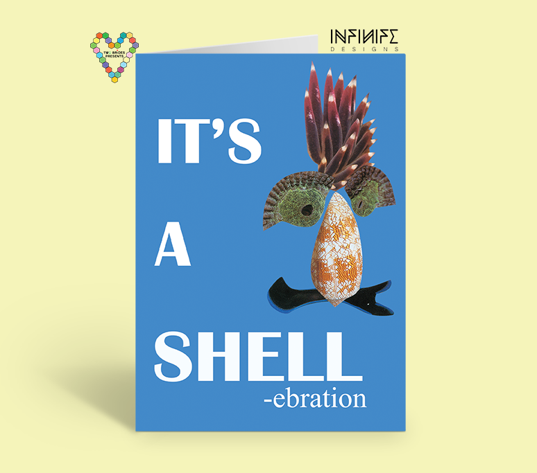 Shell-ebration Card from Save Our Symbionts Collection by Infinife Designs