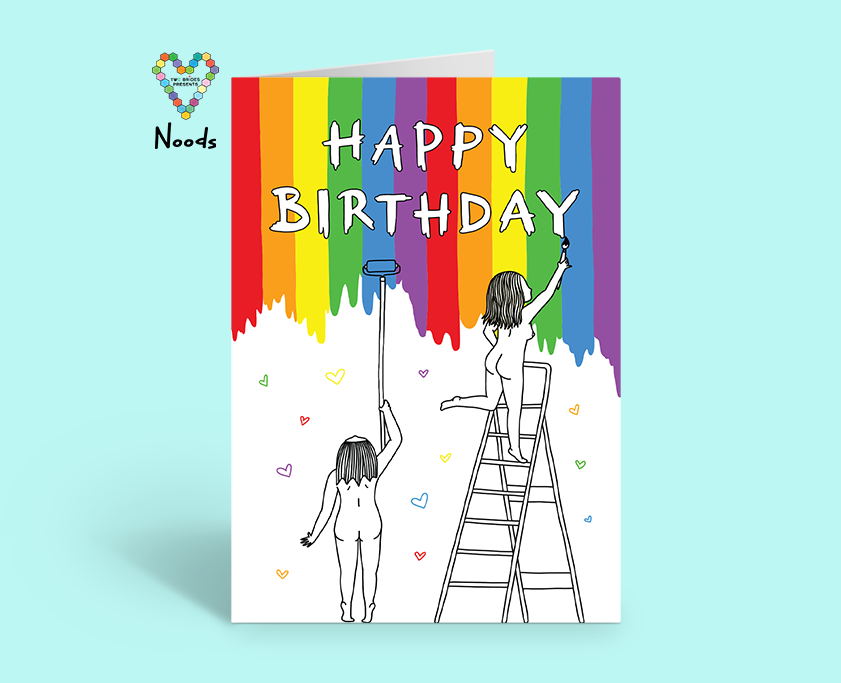 Happy Birthday Card ~ Noods Creative X TBP Collab