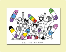 Load image into Gallery viewer, Pride Homo Skater Print