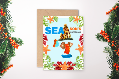 SEAsons Greetings Card ~ Infinife Designs x TBP
