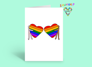 Rainbow Hugs Card ~ Shuturp X TBP Collab