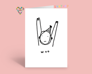 Woo Celebratory Card by Shuturp x TBP