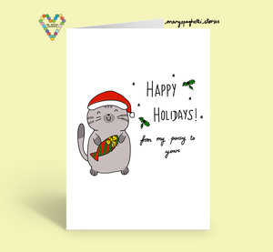 Happy Holidays by Mary Spaghetti Stories