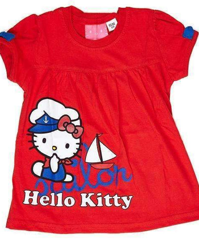 Tricou Hello Kitty fete 2-9 ani