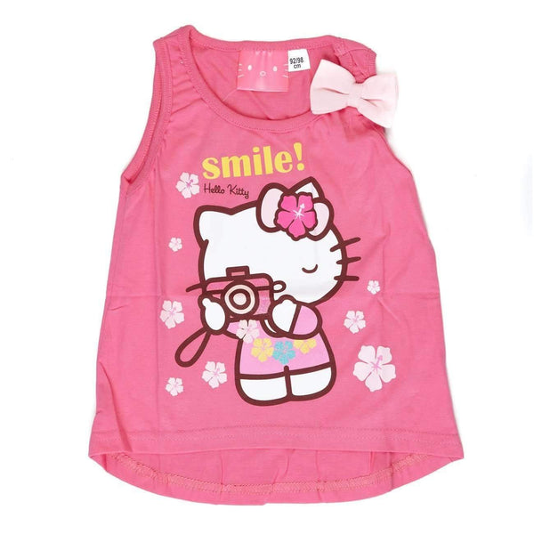 Maiou Hello Kitty fete 2-9 ani Hello Kitty Roz Inchis / 2-3 ani | 92-98 cm Maiou Hello Kitty fete 2-9 ani