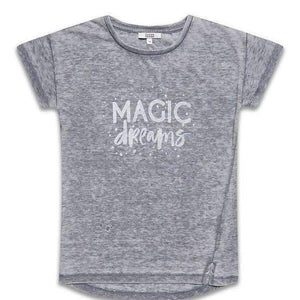 "Sugar Squad Gri / 13-14 ani | 158-164 cm Tricou imprimeu ""Magic dreams"" Sugar Squad fete 2-14 ani"