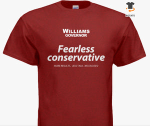 """Fearless Conservative"" T-Shirts"