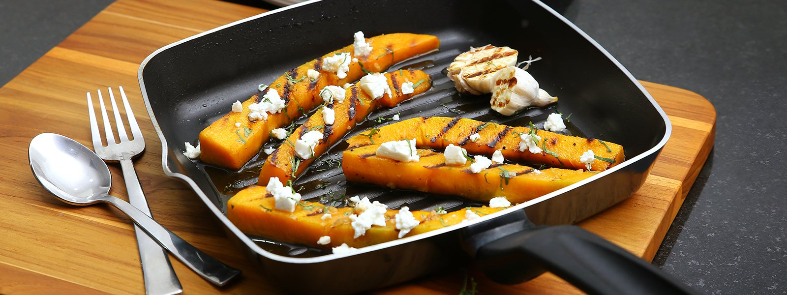 Maple Glazed Grilled Pumpkin Boats