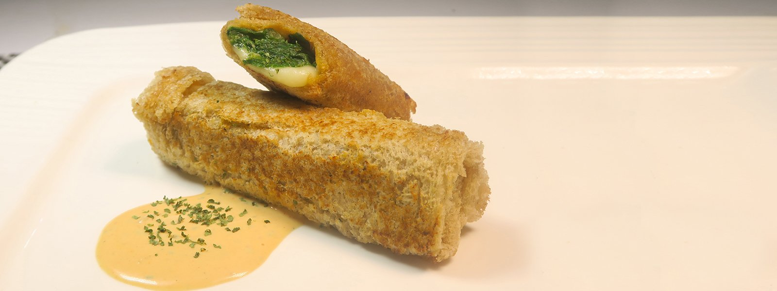 Lentils & Spinach Rollups