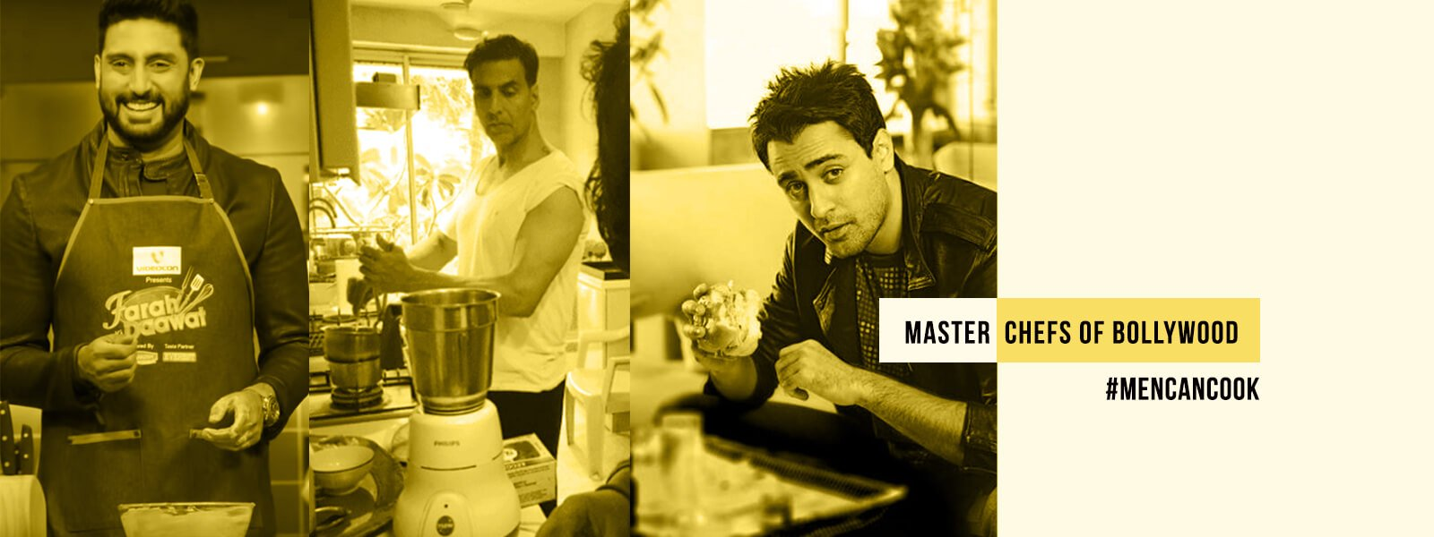 Bollywood Leading Men, Who Love To Cook  #MenCanCook