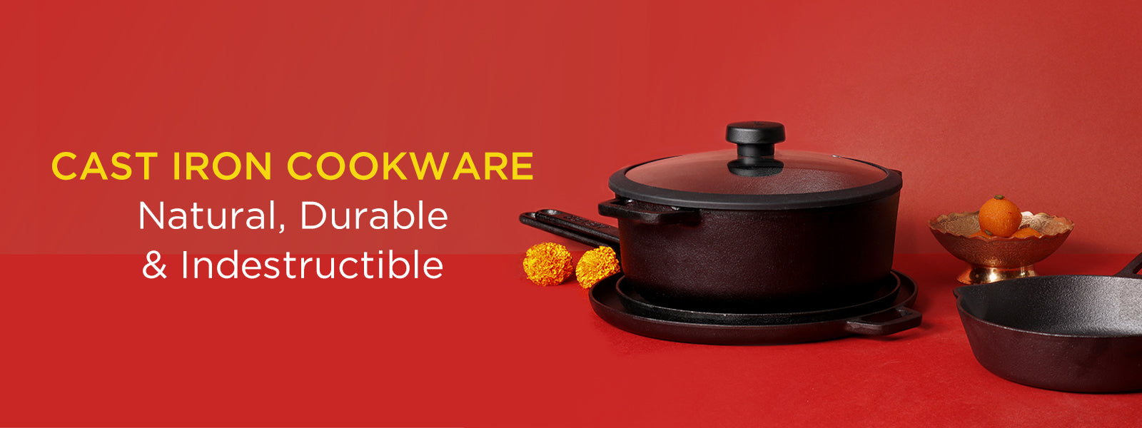 The Best Cast Iron Cookware in India of 2020
