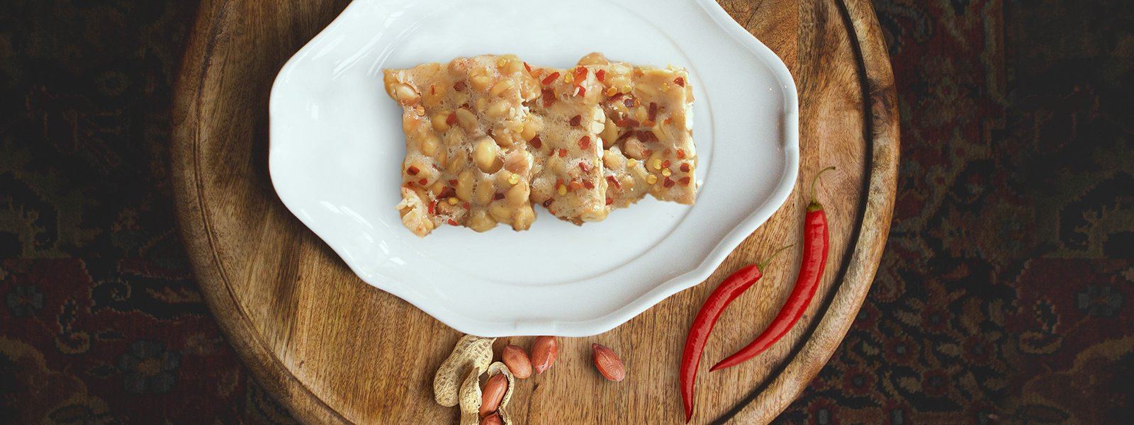 Chilli Peanut Brittle