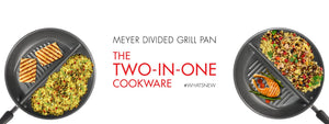 Introducing Meyer Divided Grill Pan