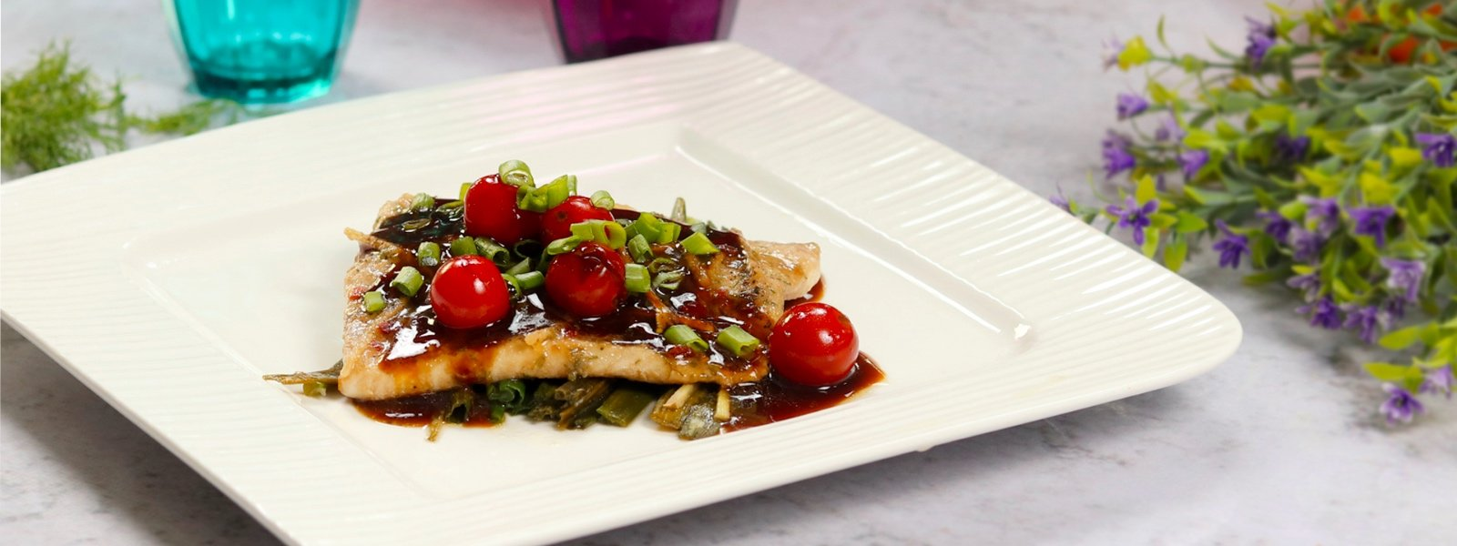 Steamed Ginger Soy Fish