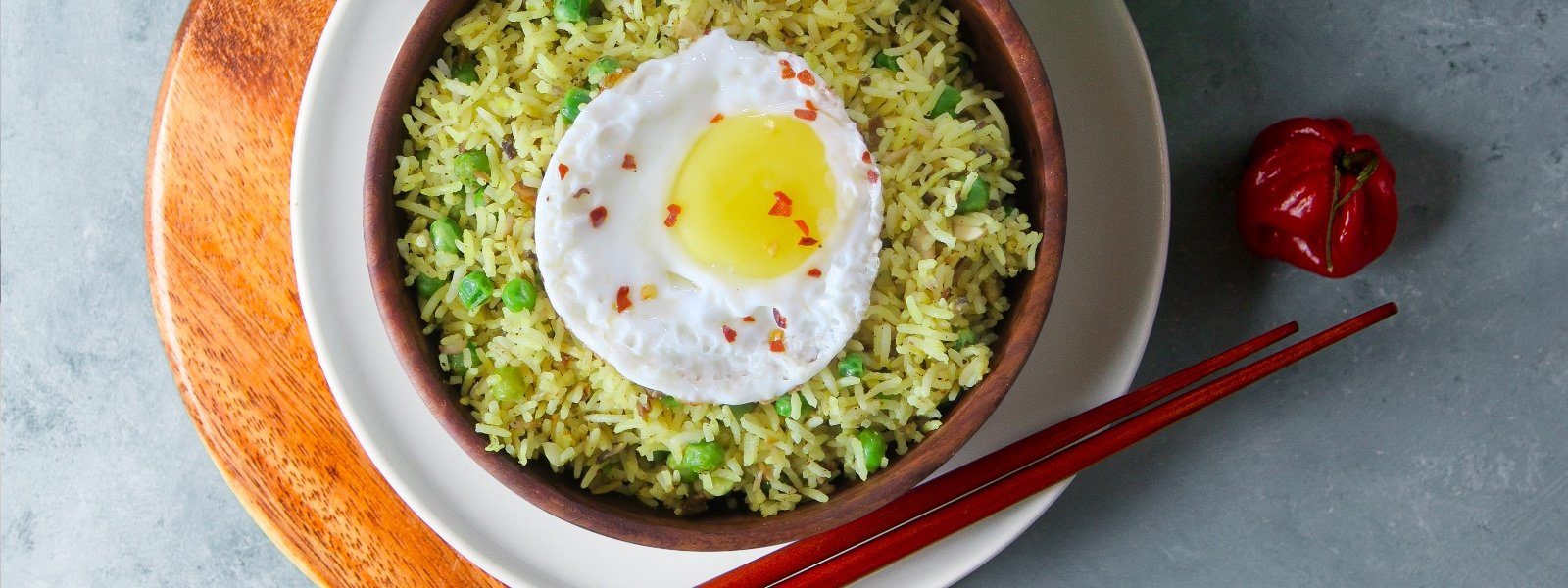 Vegetable Golden Fried Rice