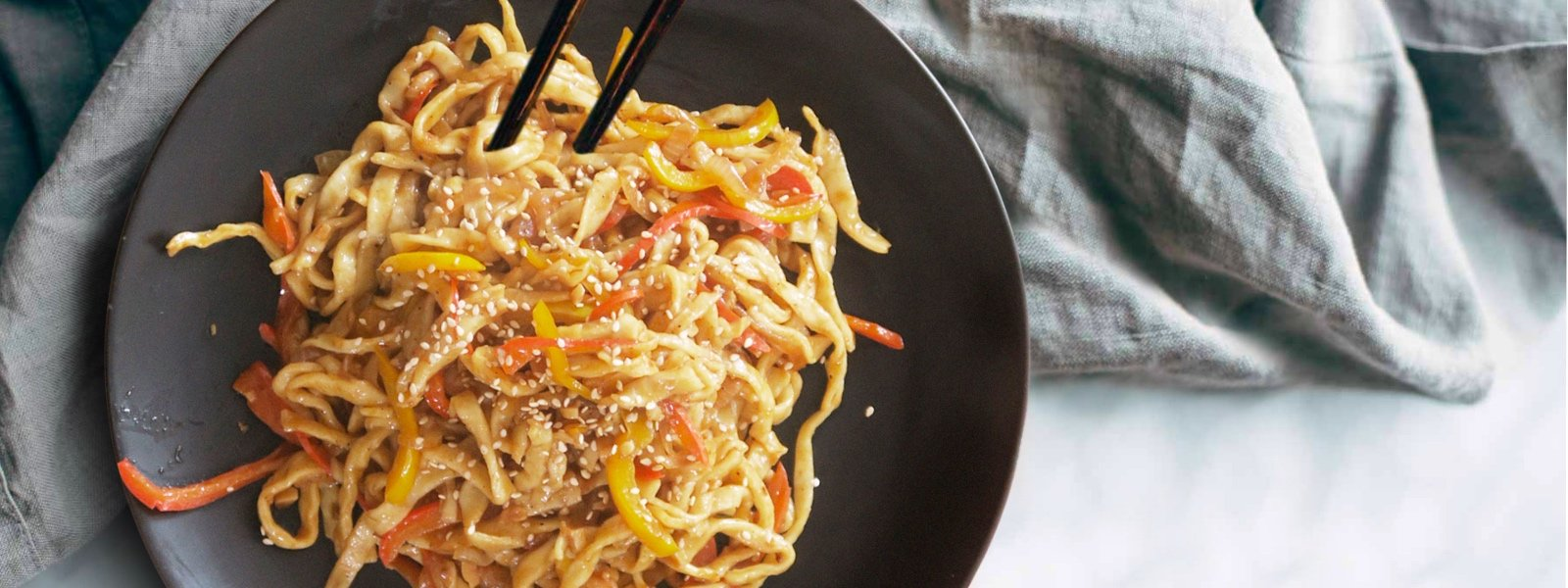 Hand-Pulled Sesame Braised Noodles
