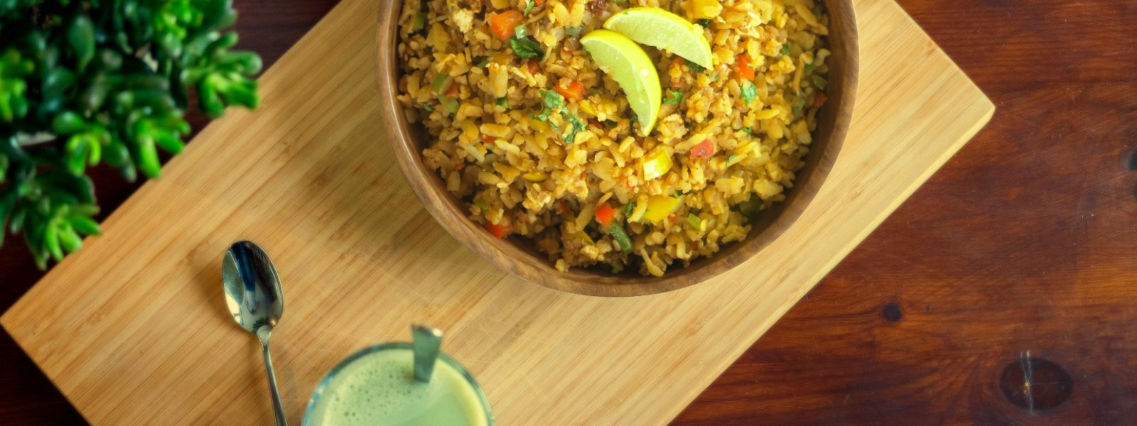 Asian Stir Fried Poha