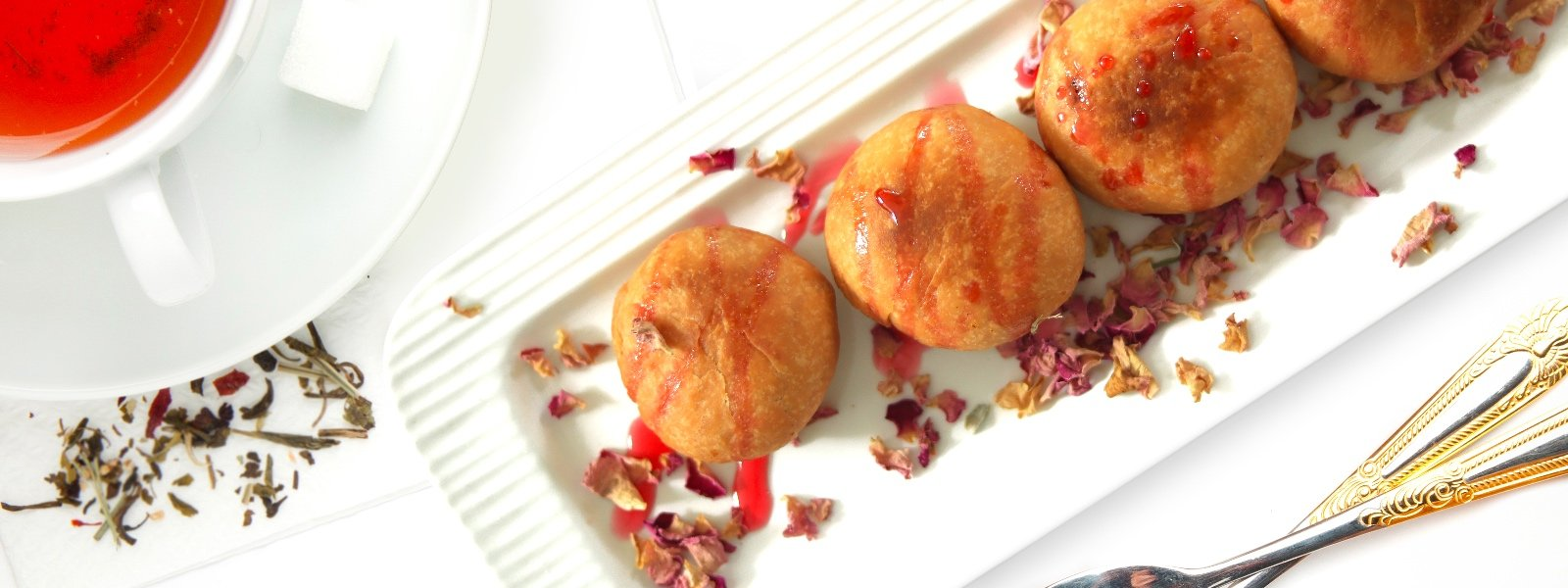 Rose And Dry Fruit Kachori