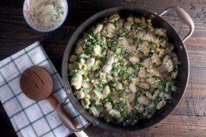 Spring Vegetable Gnocchi Salad
