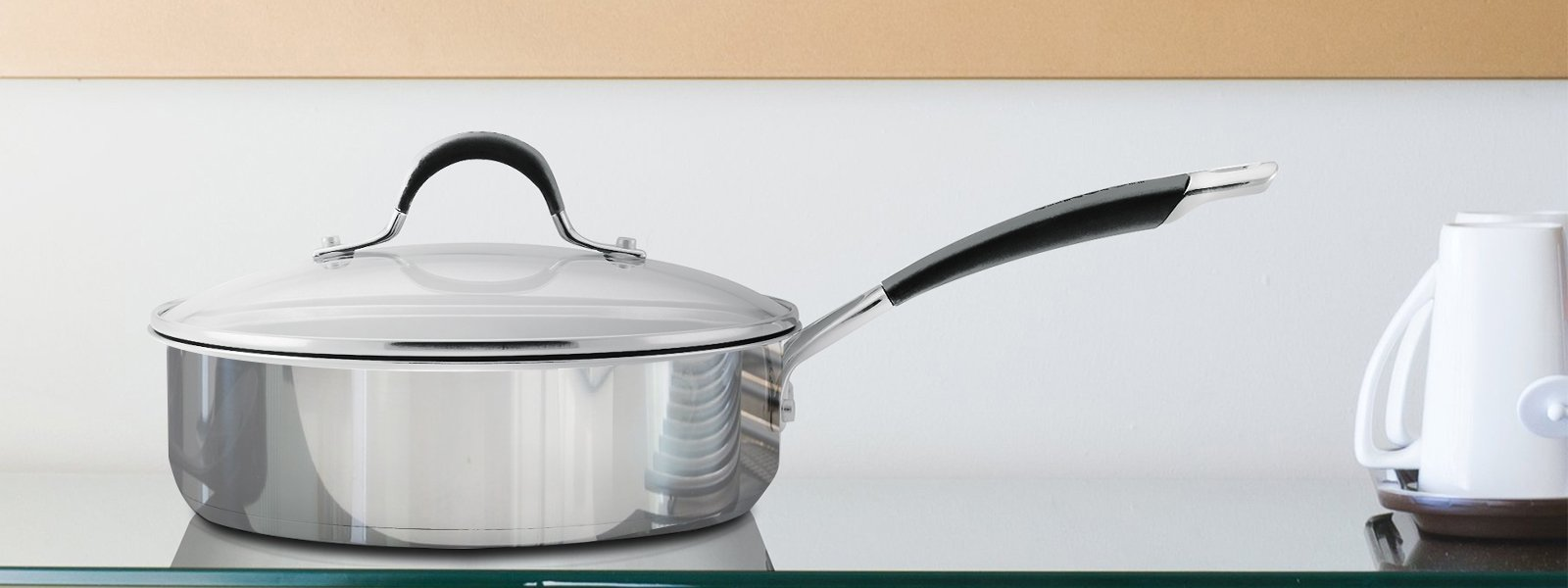 The Ultimate Non-stick Pan for Everyday Cooking- Sauté Pan
