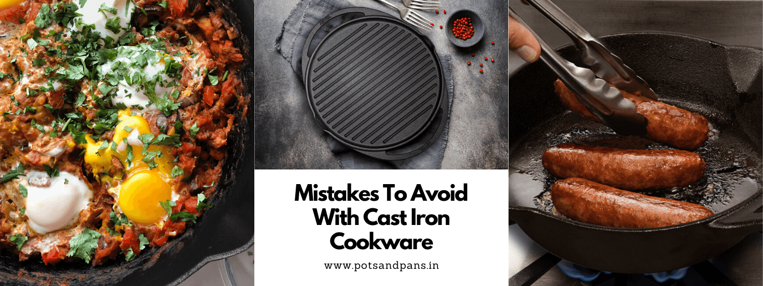 5 Ways You're Ruining Your Cast Iron Cookware
