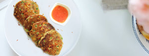 Asian Vegetable Fritter