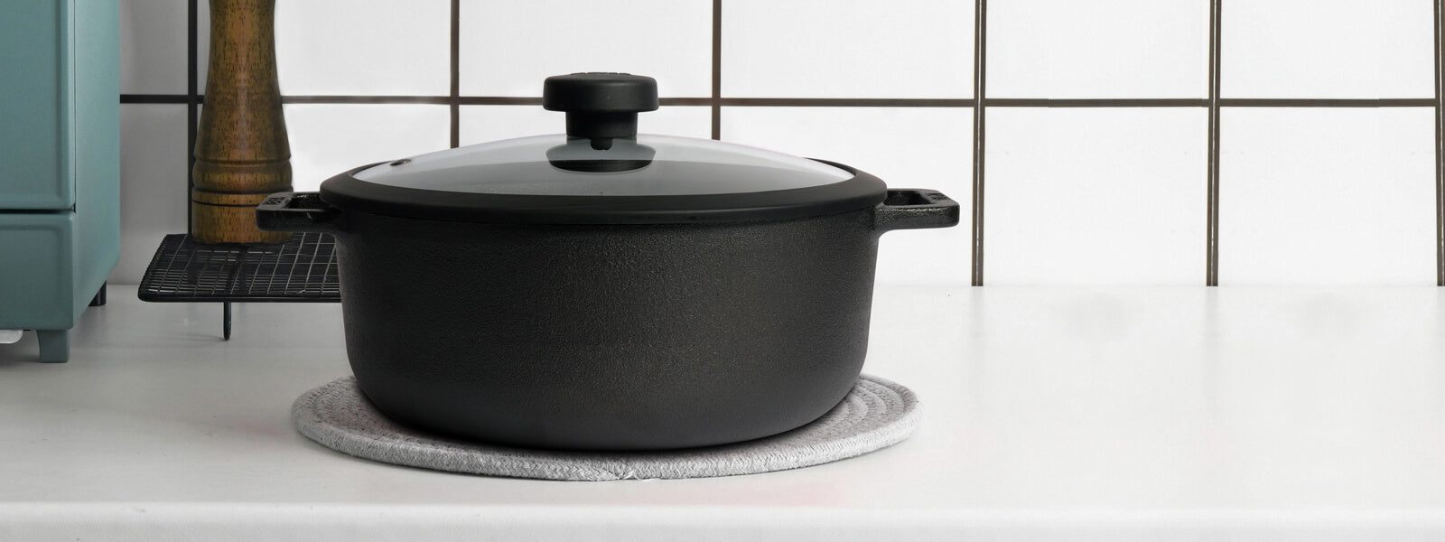 Uncoated Pre-Seasoned Cast Iron Cookware