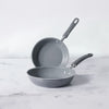 Meyer Anzen 2 piece Set -24cm frypan +28cm frypan - Pots and Pans