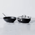 Circulon Infinite Non-Stick 3pcs Set (4.3L/26cm Casserole/Biryani Pot & Stirfry with Interchangeabe Lid) - Pots and Pans