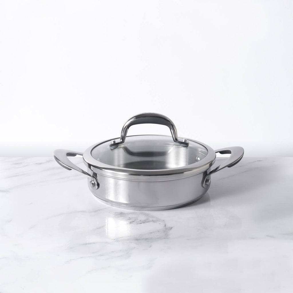 Meyer Select Stainless Steel Sauteuse 20cm (Induction & Gas Compatible)