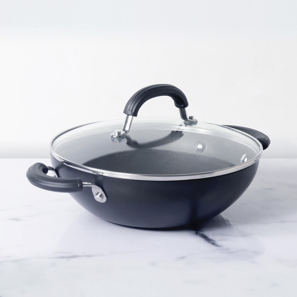 Circulon Origins Hard Anodized Non-Stick Kadhai 26 cm