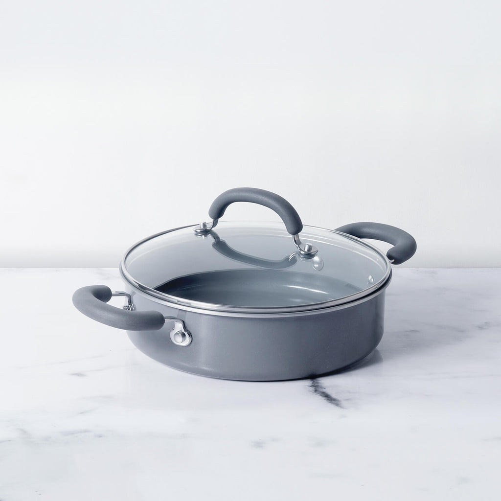 Meyer Anzen Sauteuse with Lid,  24cm - Pots and Pans
