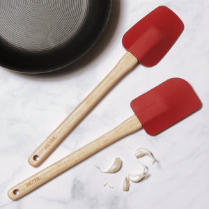 Meyer Kitchen Hacks 2-Piece Set - Knife & Utensil Station + Spoonula Spatula Set - Pots and Pans