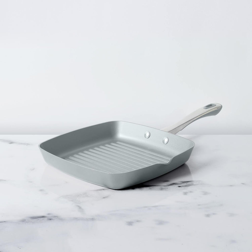 Prism Non-Stick Grillpan 24cm, Silver - Pots and Pans
