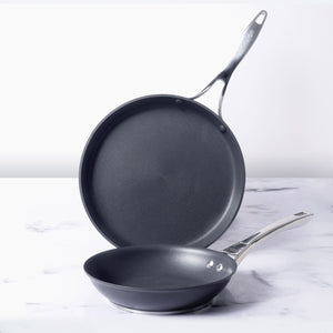 Circulon Infinite Non-stick + Hard-Anodized 2 Pc Set ( Skillet 24cm and Flat Dosa Tawa 28cm ) - Pots and Pans